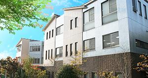 奥村日田病院の外観